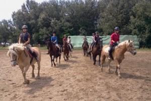 nyári lovas tábor